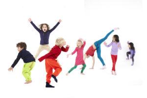 танцы, дети